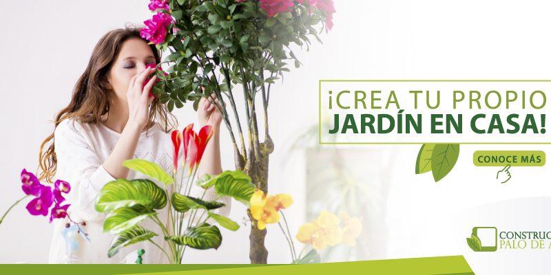 Crea tu propio jard n en casa palo de agua for Crea tu jardin