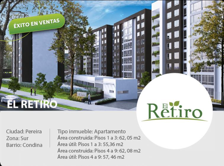 Proyecto de Vivienda VIS Apartamentos El Retiro