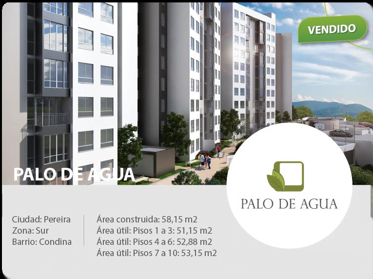 constructora pereira apartamentos palo de agua conjunto residencial