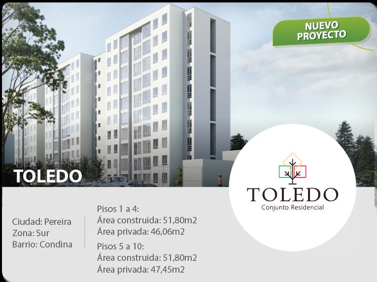 constructora pereira apartamentos toledo conjunto residencial