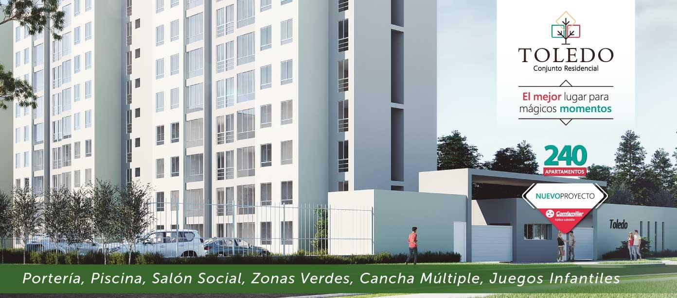 apartamentos toledo conjunto residencial