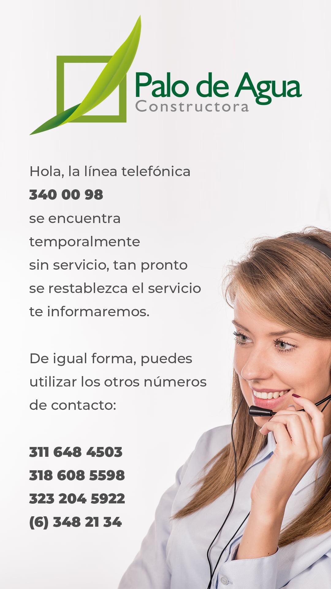 teléfonos de contacto